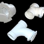 Saugdose PVC zum Einbau in die Rohrleitung. z.B. kurz vor dem Gerät einen Abzweiger od. T-Stück mit Steuerleitungsanschluss.