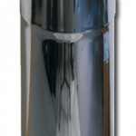 Wäscherutsche - Verkleidungsrohr Aus Edelstahl V2A für 300-er KG-Rohre Durchmesser -315mm passt genau über ein 300-er KG-Rohr